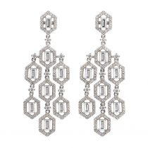 chandelier earrings 18 carat a