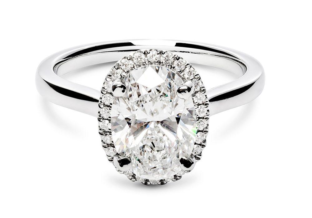Multi-Cut Diamond Engagement Ring