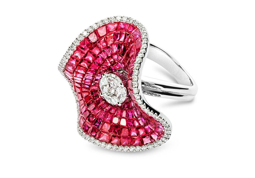Pink Diamond Ring 3