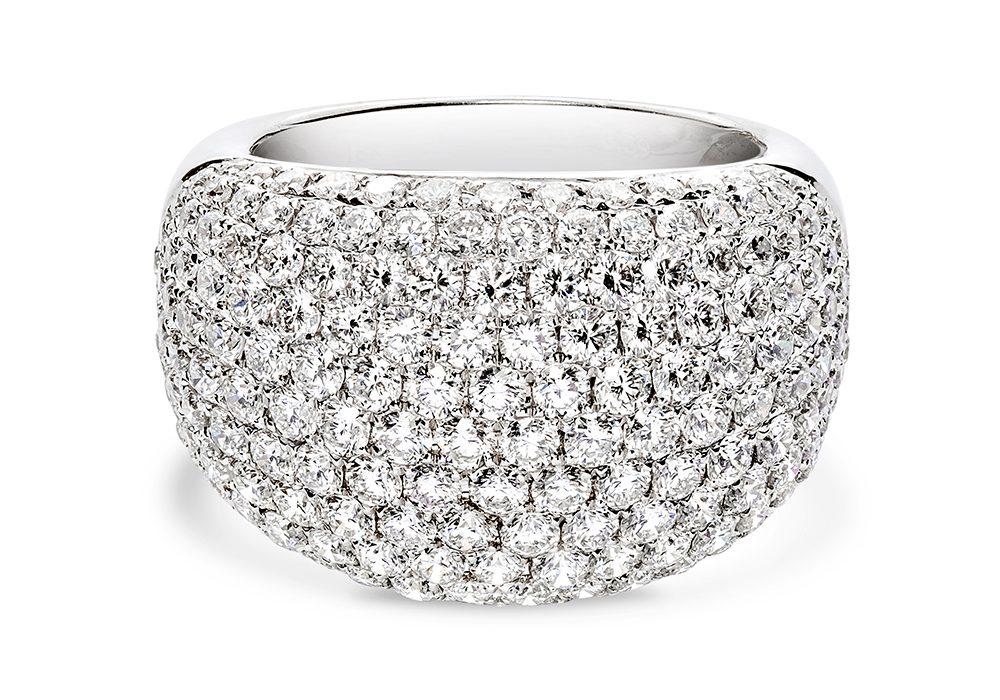 Full Diamond Ring