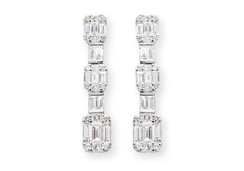 Argyle Diamond Earrings