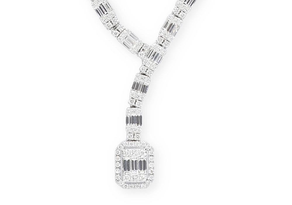 Argyle diamond necklace