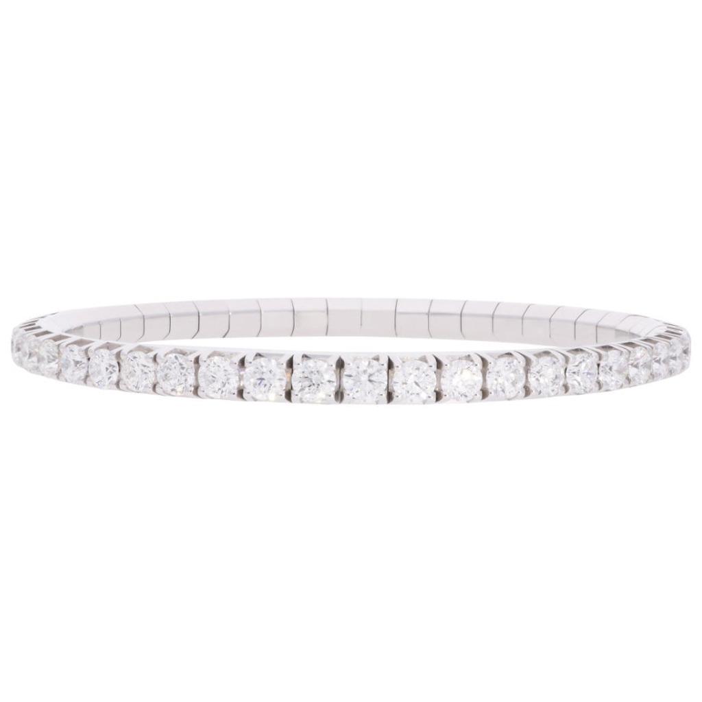 3.35ct diamond tennis bracelet