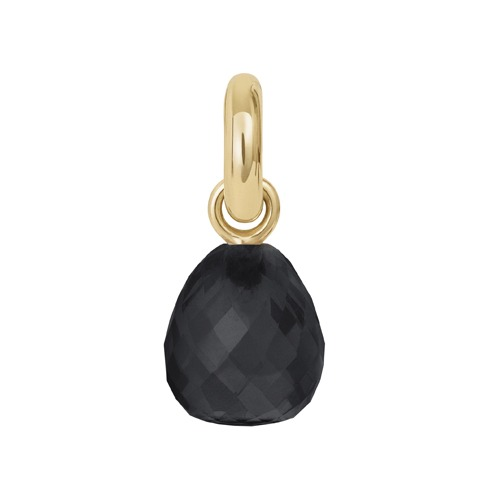 sweet drops charm with black onyx